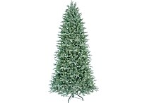 GE 7.5ft Pre-Lit Aspen Fir Tree with 500 Color Choice Lights