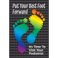 Custom Postcards Podiatrist Best Foot Forward
