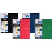 "Mead Five Star Wirebound Notebook, 1 Subject, College Ruled, 11"" x 8 1/2"", Assorted Colors (06206)"