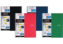 Mead Five Star Wirebound Notebook, 1 Subject, College Ruled, 11' x 8 1/2', Assorted Colors (06206)