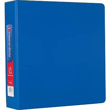 Staples® Heavy-Duty Binder with D-Rings, 2
