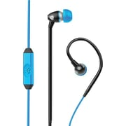JLab FIT Sport Earbuds, Black/Blue