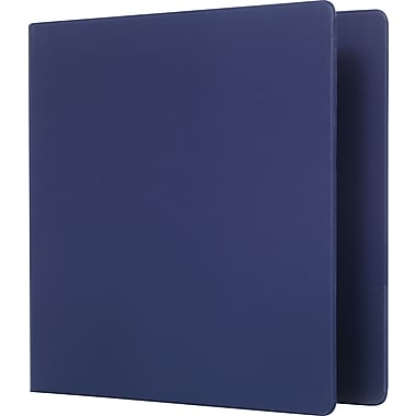 Staples Standard 2-Inch D 3-Ring Binder, Blue (26418-CC)