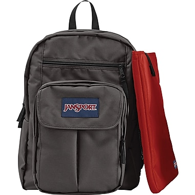 Jansport Digital Student Backpack, Forge Gray, 15in.