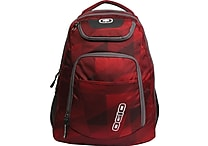 OGIO® Tribune Backpack For 17' Laptops, Envelop Red