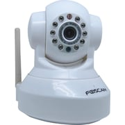 Foscam Pan and Tilt Wireless IP Camera, White