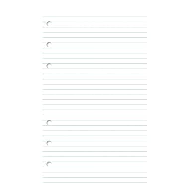 Day-Timer® Multi-Purpose Portable Size Lined Pages, 3-3/4