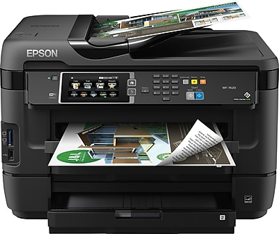 Epson WorkForce WF 7620 All In One Color Inkjet Printer C11CC97201