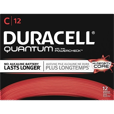 Duracell® CopperTop C Batteries, 12/Pack