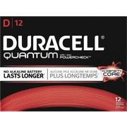 Duracell® Quantum Alkaline D Batteries, 12/bx