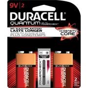 Duracell® Quantum Alkaline 9V Batteries, 2/pk