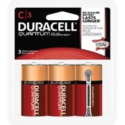 Duracell® Quantum Alkaline C Batteries, 3/pk