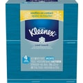 Kleenex Cool Touch Facial Tissues, 3-Ply, White, 4/pack