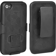 Staples iPhone 4s Shell/Holster, Black