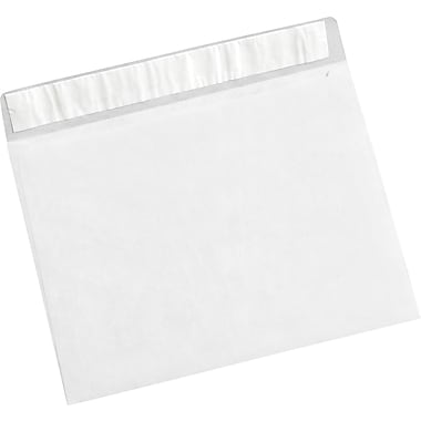Staples 7 1/2in. x 10 1/2in. White Flat Tyvek® Envelope, 100/Case