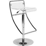Euro Style™ Angelita Acrylic Bar/Counter Stool, Clear