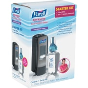 PURELL® ADX-7 Advanced Instant Hand Sanitizer Kit, 700mL, Manual, Chrome/Black