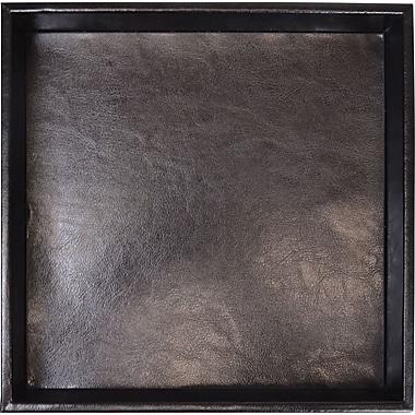 Royce Leather Organizer Tray, Black