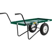 "Farm Tuff 24"" x 48"" 2-wheel Metal Deck push cart"