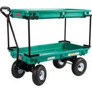 "Farm Tuff Plastic 20"" x 38"" Double Deck  Wagon"