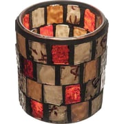 Hollowick 6201A, Amber Mosaic Votive Lamp