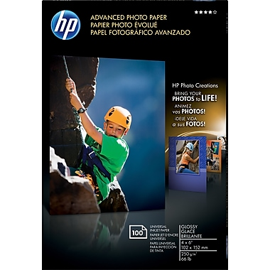 HP Advanced Borderless Photo Paper, 4
