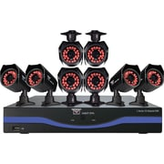 Night Owl B-L165-8624-PT 16 Channel 500GB HDD DVR System and 8 Night Vision Cameras, 1 Pan & Tilt Camera