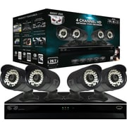 Night Owl NVR7P-441 4 Channel 1TB HDD Network Video Recorder and 4 Night Vision 720p Cameras