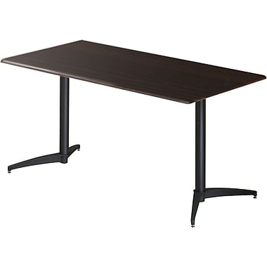 ICEBERG OfficeWorks 60'' Rectangular Conference Table, Espresso (65022)