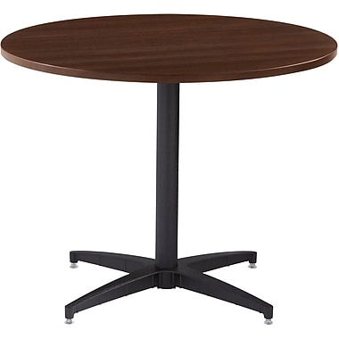 ICEBERG OfficeWorks 48'' Round Conference Table, Espresso (69152)