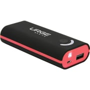 Urge Basics 4000mAh Universal Battery Pack, Black/Red