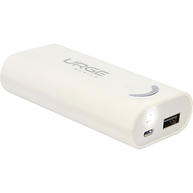 Urge Basics 4000mAh Universal Battery Pack,White