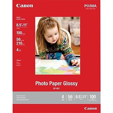 Canon - Papier photo lustré, 8,5 po x 11 po, 100 feuilles