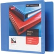"4"" Staples® Heavy-Duty View Binder with D-Rings, Periwinkle"