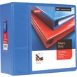 """5"""" Staples® Heavy-Duty View Binders with D-Rings, Periwinkle"""