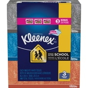 Kleenex® 2-Ply Facial Tissue; Flat Box, 160 Sheets/Box, 3 Boxes/Pack (37392)