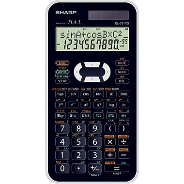 Sharp® EL531XGBWH Scientific Calculator