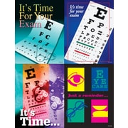 MAP Brand Eye Care Assorted Laser Postcards Eye Charts