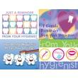 MAP Brand Dental Assorted Laser Postcards Hygenist Reminder
