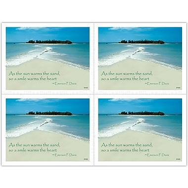 MAP Brand Scenic Laser Postcards Ocean Beach