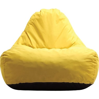 Comfy-Ture Compressed Foam 242PV Chair, 25'' x 11'' x 19'', Yellow