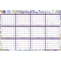 2015 Staples® Two-Sided Erasable Yearly Wall Planner, 36in. x 24in.