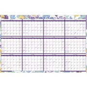 2015 Staples® Two-Sided Erasable Yearly Wall Planner, 36 x 24