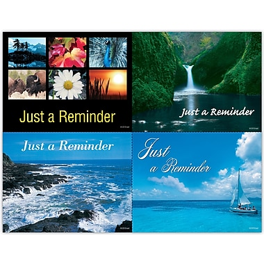 MAP Brand Generic Assorted Laser Postcards Flowers-Water