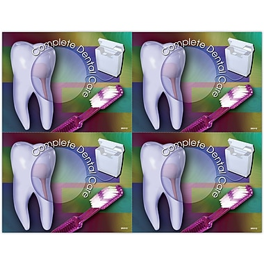MAP Brand Gentle Dental Laser Postcards Complete Dental Care