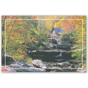 MAP Brand Scenic Laser Postcards Autumn Color