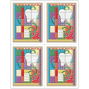 MAP Brand Graphic Image Laser Postcards Patchwork Quilt