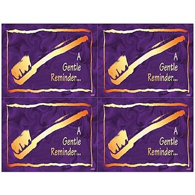 MAP Brand Gentle Dental Laser Postcards Elegant Brush in Gold