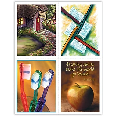 MAP Brand Dental Assorted Laser Postcards Dentist Assortment