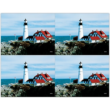 MAP Brand Scenic Laser Postcards Lighthouse